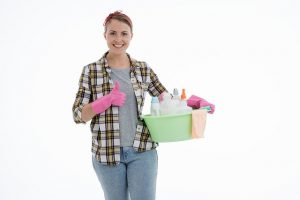 Pomona Cleaning Services employee