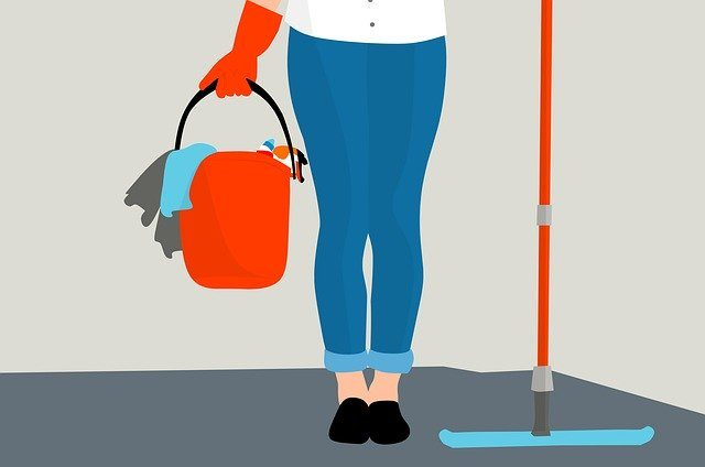 Housekeeping animated pic